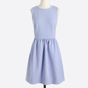 NWT J CREW Fit and Flare Daybreak Dress Lavender